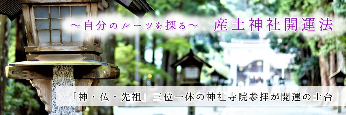 産土神社開運法 自分のルーツを探る 「神・仏・先祖」三位一体の神社寺院参拝が開運の土台
