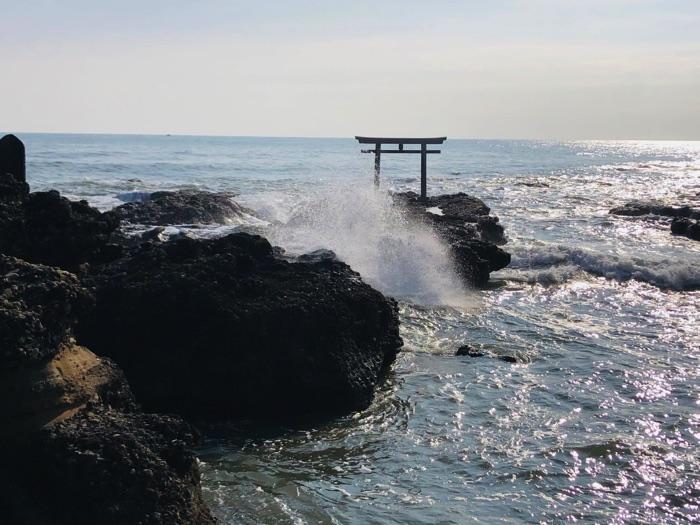 大吉方で行った大洗磯前神社