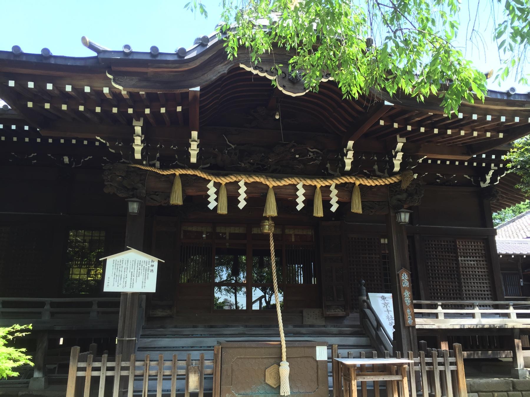 文京区 白山神社