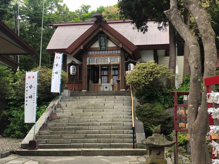 北海道最古の神社 船魂神社