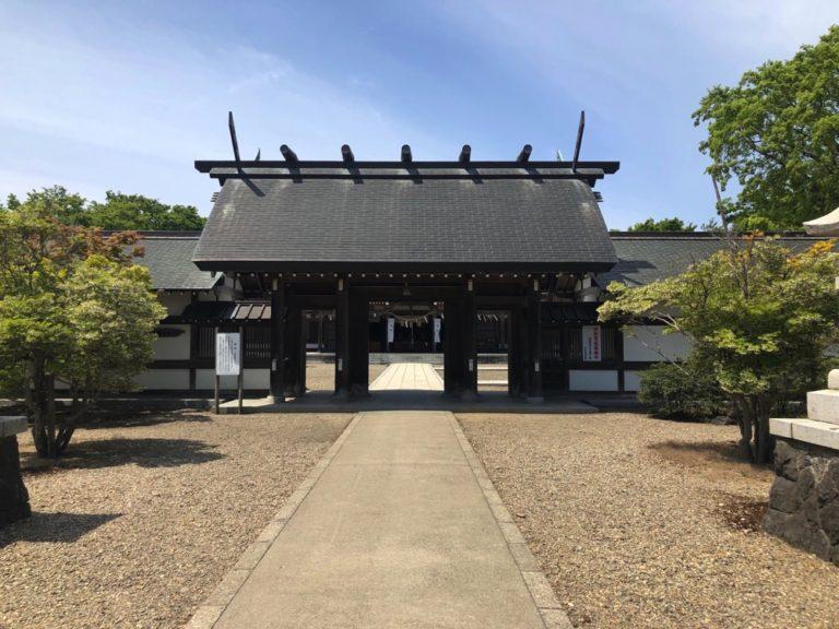 秋田城内 護国神社