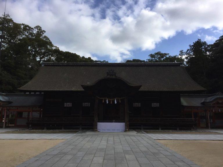 日本総鎮守の大山祇神社 (愛媛県今治市)