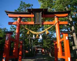 生島足島(いくしまたるしま)神社(長野)