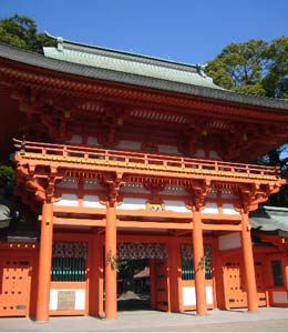武蔵国(東京と埼玉)の一の宮 大宮氷川神社(埼玉県さいたま市)